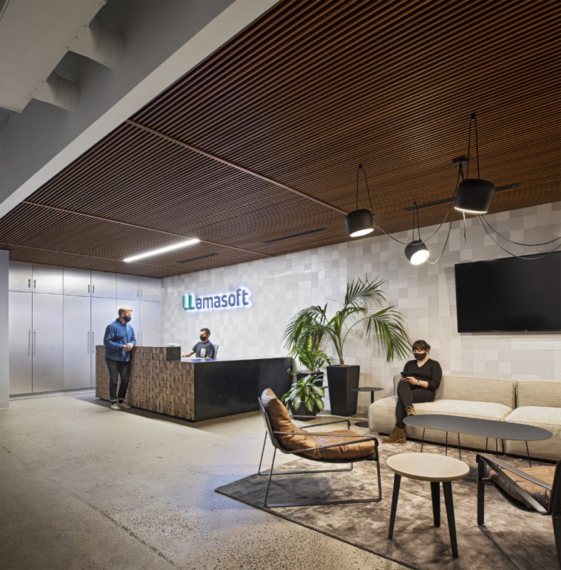 A Look Inside LLamasoft's New Ann Arbor Office