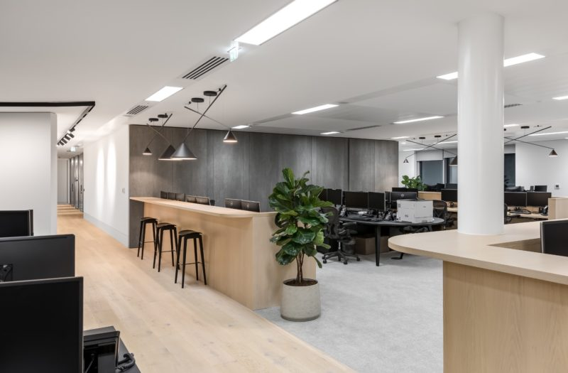 A Look Inside Real Estate Investment Firm's London Office